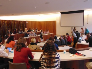 The gathering of undergraduate editors at the 2014 FUSE conference at Bennington College in Bennington, VT.