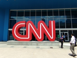 At the CNN World Headquarters in Atlanta, Georgia!